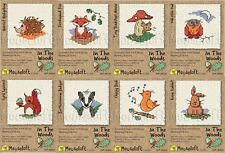 Mouseloft Mini Cross Stitch Kits  - In The Woods Collection **BUY 4 - 15% OFF!!*