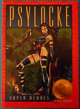 1993 Skybox X-Men Series 2 Trading Cards: #24  - Psylocke Super Heroes