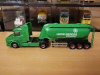 (P4) Herpa LKW H0 1:87 Scania Hauber Heidelberger Zement