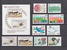 UNO Genf postfrisch Jahrgang 1985