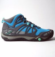 Merrell Womens Proterra Vim Mid Sports Trekking Hiking Shoes Blue Color