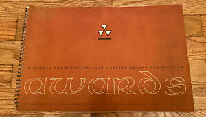 National Community Fallout Shelter Design Competition Awards Book 1964