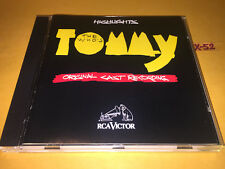 TOMMY the who MUSICAL highlights CD pete townshend keith moon PINBALL WIZARD