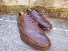 CHURCH VINTAGE BROGUES – BROWN - UK 9 – CHETWYND V – VERY GOOD CONDITION