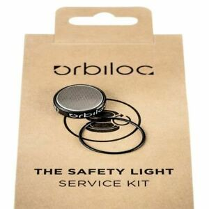 Orbiloc Service Kit for Safety LED Light Replacement Batteries and O-Ring
