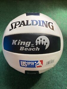 Spalding King of the Beach US OPEN Logo Official Tour Volleyball  KOB Pre-owned