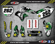 Kawasaki KXF 250 2006 - 2008 Decal kit GRAFFITI STYLE Full Graphics / stickers