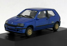 Herpa 1/87 HO Scale - Renault Clio 2L Williams Blue Tiny Model Car + Case
