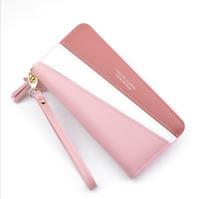 Women Leather Long Wallet Card Holder Phone Bag Purse Clutch Pockets Handbag