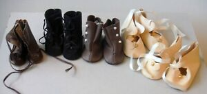 Vintage Lot of 5 Pair NOS Doll Shoes New Old Stock P1032