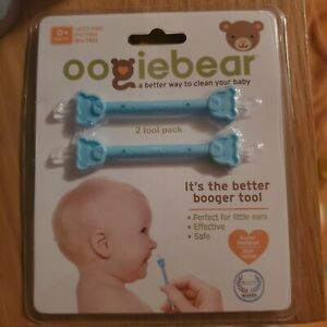 oogiebear Baby Ear & Nose Booger Cleaner Remover tool 2pk - New