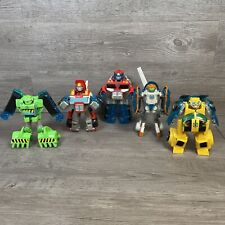 Lot of Transformers Rescue Bots Playskool Heroes