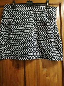 Ladies Joules Patterned Skirt Size 16  X Isabel Style