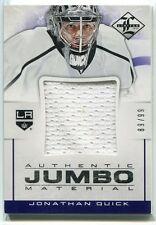 2012-13 Limited Jumbo Materials JQ Jonathan Quick Jersey 89/99