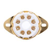 1PC 8PIN TUBE SOCKET Ceramic Base for KT88 EL34 5881 6SL7 6CA7 6V6 6L6 AUDIO DIY