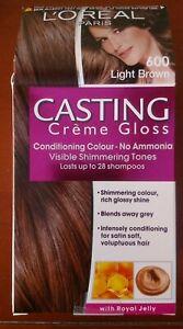 L'Oreal Paris Casting Creme Gloss Conditioning Colour 600 Light Brown Hair Dye