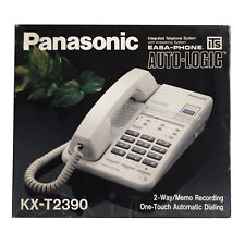 PANASONIC EASA-PHONE KX-T 2390 - TELEFONO CON SEGRETERIA  - NUOVO SIGILLATO