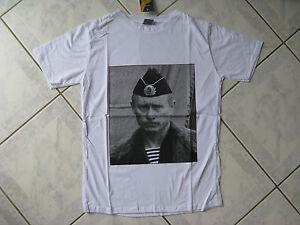 T-shirt russe président de RUSSIE Vladimir POUTINE blanc T.S