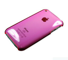 For Apple iPhone 3G 3GS HARD Protector Case Snap On Phone Cover Clear Pink