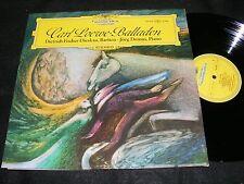 Made In Germany CARL LOEWE Balladen LP Dietrich Fischer-Dieskau DG Original LP