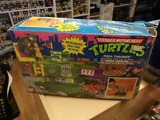 Turtles Pizza Thrower Bandai 1989 contents new unused motor tested