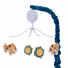 Disney Baby Lion King Adventure Musical Baby Crib Mobile  by  Lambs & Ivy - Blue