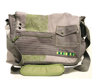 Microsoft XBOX 360 Official Travel Bag Carrying Case Shoulder Bag