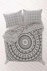 Indian Elephant Mandala Duvet Cover Quilt Bohemian Bedding Blanket Pillow Covers