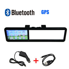 4.3'' TFT LCD Car Bluetooth Rear View Mirror Monitor Video with GPS Navigation
