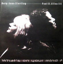 MARY ANNE STERLING & PAUL B ALLEN  CD WHAT'S ON YOUR MIND FREE POST IN AUSTRALIA