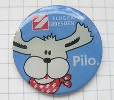 FLUGHAFEN DRESDEN / PILO ............. Airlines / Flugzeug Pin (118k)