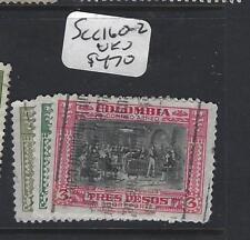 COLOMBIA  (P2101)  SC C160-162      VFU