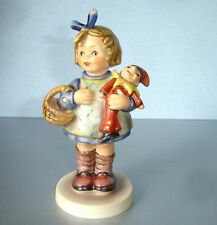 Hummel Goebel WHAT NOW? #422 TM6 Girl w/Clown Doll Figurine Exclusive Edit. No.7