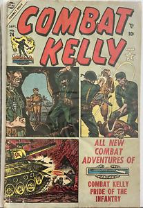 Combat Kelly #24 September 1954 Golden Age Military Atlas Comics all Dave Berg