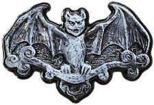 Haunted House Plastic Halloween Hanging Wall Plaque Party Decoration ~ Devil Bat