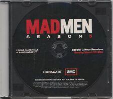 Mad Men Season 5 Lionsgate Promotional CD