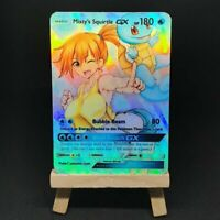 Misty's Squirtle GX - Custom Pokemon Card