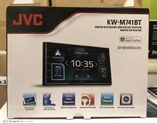 "JVC KW-M741BT CarPlay Android Auto Car Stereo 6.8"" Double Din Touch Screen USB"
