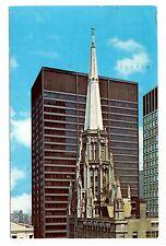 Chicago Temple Postcard First Methodist Illinois Clark and Washington Vintage