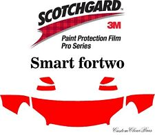 3M Scotchgard Paint Protection Film Pro Series Clear Kit 2018 2019 Smart fortwo