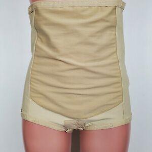 Bellefit Postpartum Belly Wrap Corset Girdle Body Shaper 2XL Nude Color 3572