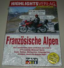Motorrad Reiseführer Französische Alpen entdecken 10 Traumhafte Touren Buch Neu!