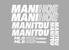 Sticker, aufkleber, decal - MANITOU MLB 625