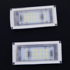 White LED License Number Plate Light for BMW 3 Series E46 Convertible 1998-2003
