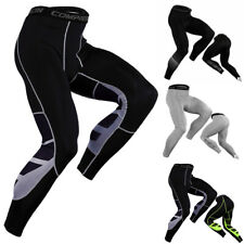 Men's Compression Base Layer Gym Sports Pants Leggings Tight Running Bottoms NEW