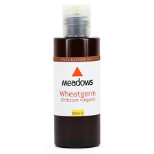 Wheatgerm Cold Pressed/Unrefined Carrier Oil (Meadows Aroma) 100ml