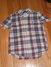 NWT - Ralph Lauren short sleeved red, grey & blue button down collared shirt - 5