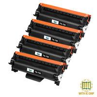 4PK TN-760 TN730 Toner Compatible for Brother HL-L2350DW MFC-L2750DW MFC-L2710DW