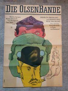 DDR Filmplakat Die Olsenbande A1 1970 Heinz Ebel Progress Film