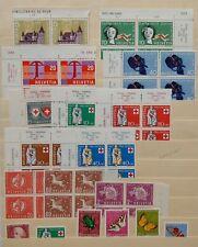 Switzerland Mint Never Hinged Accumulation. Post Office Fresh. Scott: $70.80